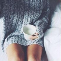 Fashionable oversized sweater for winter outfit 57