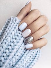 Pretty winter nails art design inspirations 15