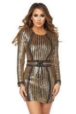 Sequin dress for new year eve party and night out 101