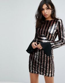 Sequin dress for new year eve party and night out 45