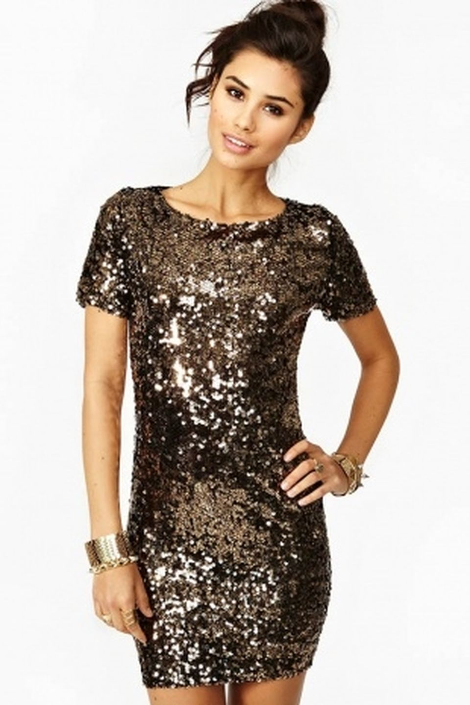 Sequin dress for new year eve party and night out 64