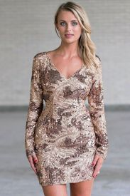 Sequin dress for new year eve party and night out 69