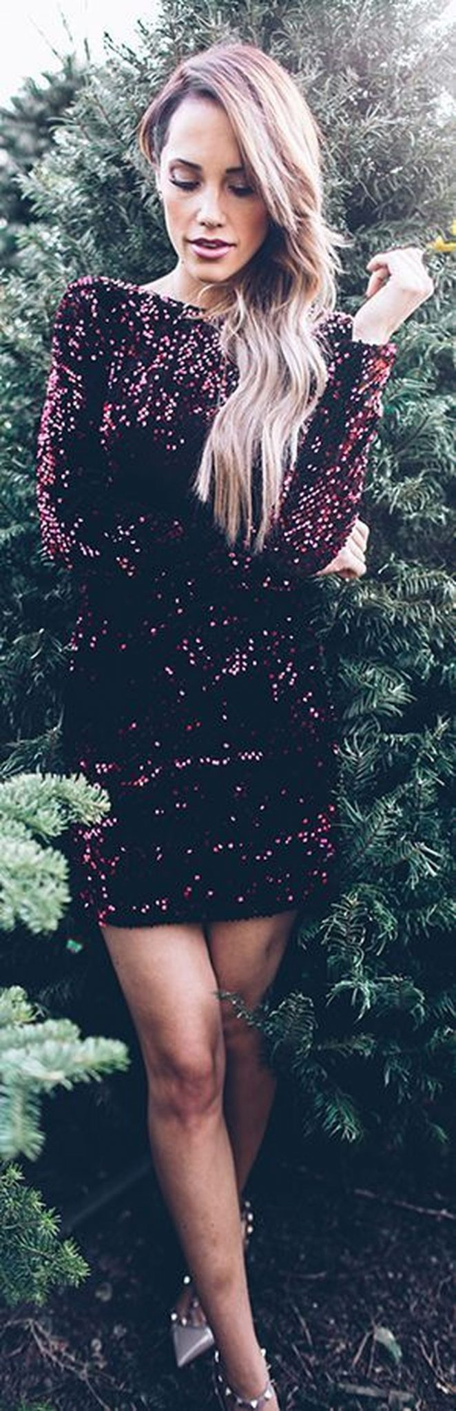 Sequin dress for new year eve party and night out 7