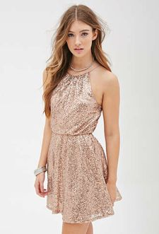 Sequin dress for new year eve party and night out 70