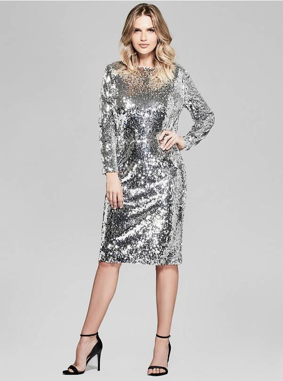 Sequin dress for new year eve party and night out 73