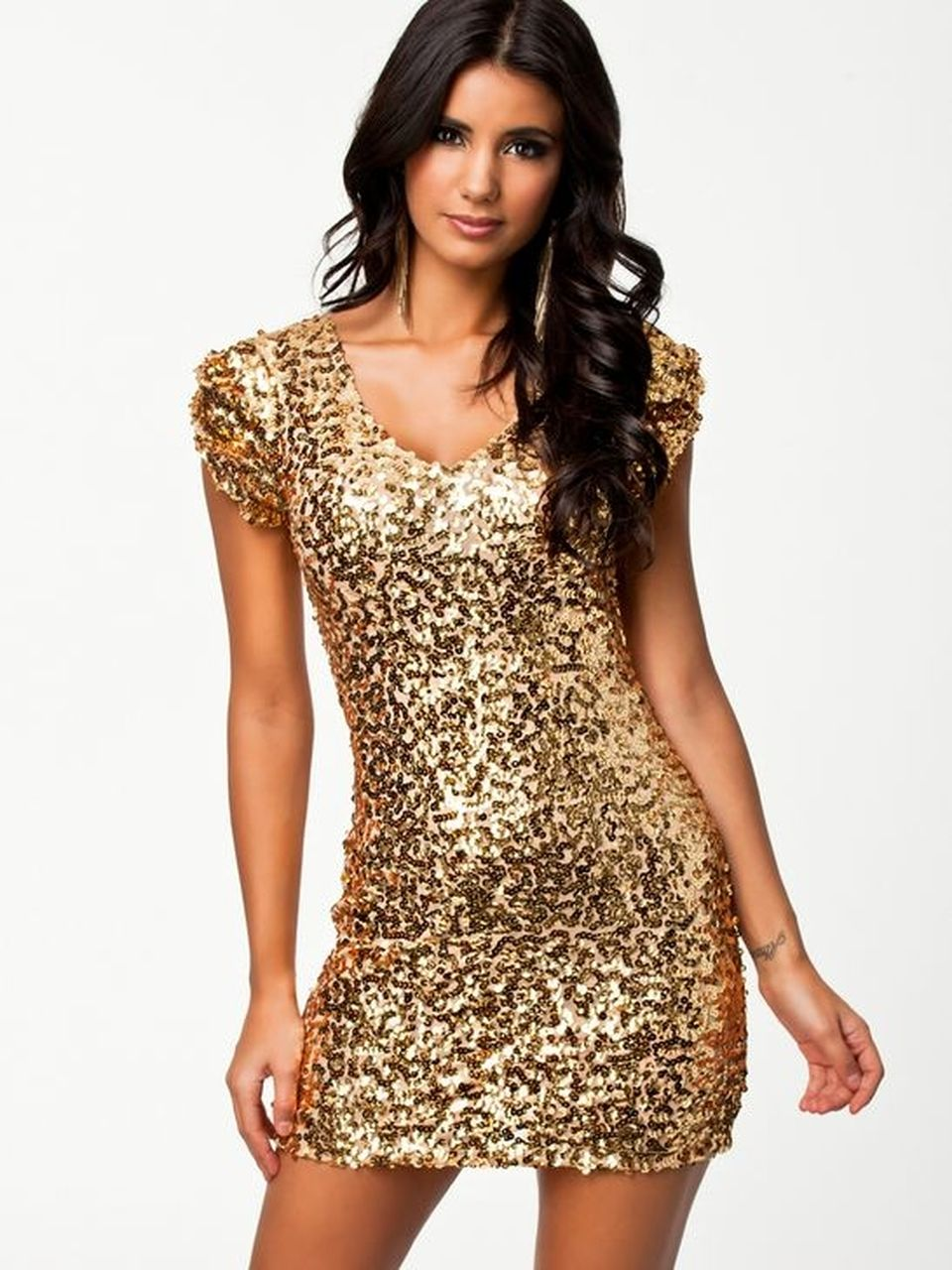 Sequin dress for new year eve party and night out 77