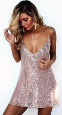 Sequin dress for new year eve party and night out 86