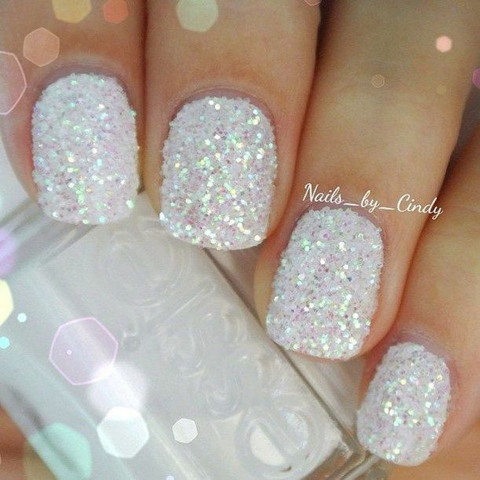 Sweet acrylic nails ideas for winter 101