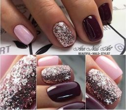 Sweet acrylic nails ideas for winter 104