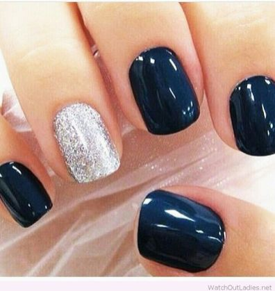Sweet acrylic nails ideas for winter 17