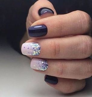 Sweet acrylic nails ideas for winter 2