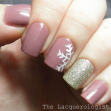 Sweet acrylic nails ideas for winter 27