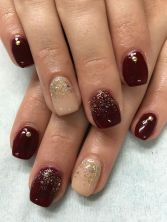 Sweet acrylic nails ideas for winter 29