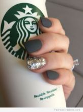 Sweet acrylic nails ideas for winter 38