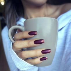 Sweet acrylic nails ideas for winter 47