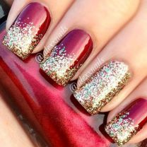 Sweet acrylic nails ideas for winter 53