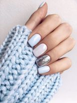 Sweet acrylic nails ideas for winter 55