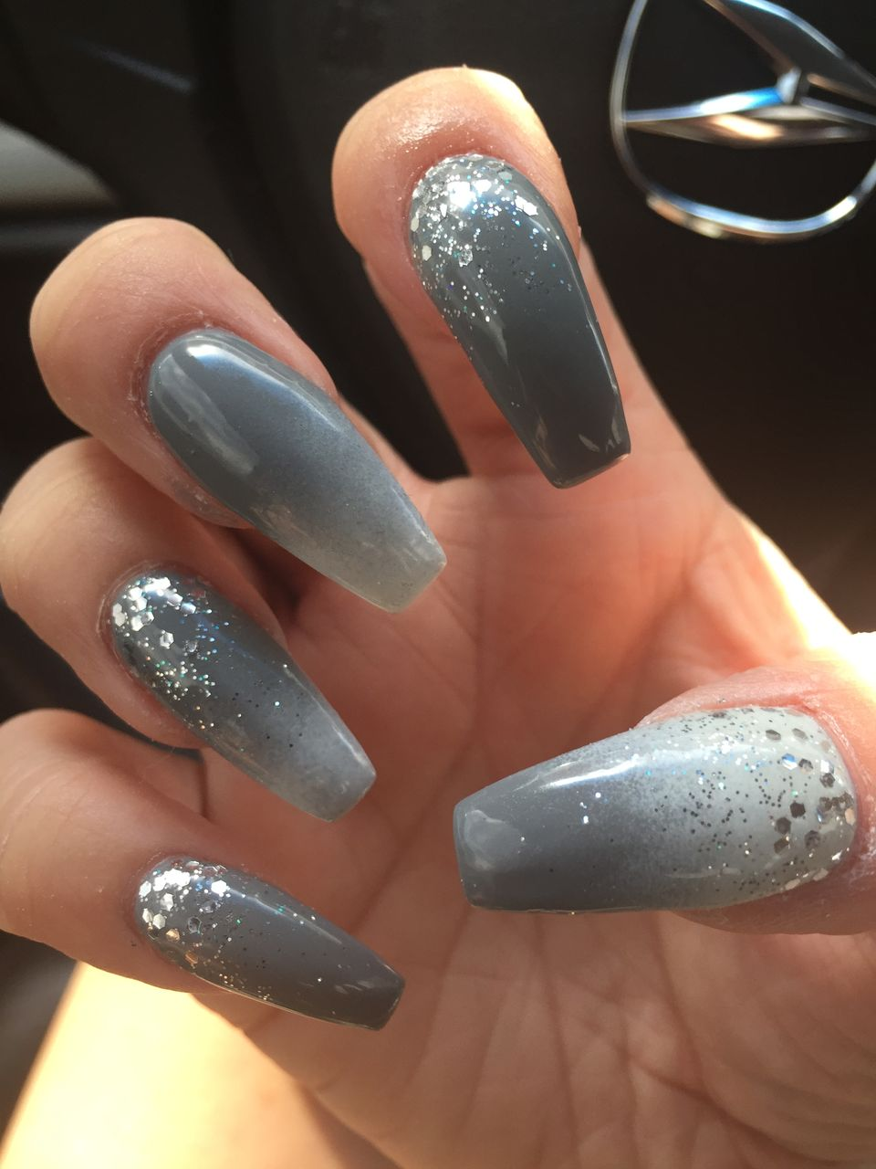 130 Fresh Ideas to Make Glitter Acrylic Nails for This Winter ...