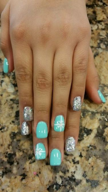 Sweet acrylic nails ideas for winter 68