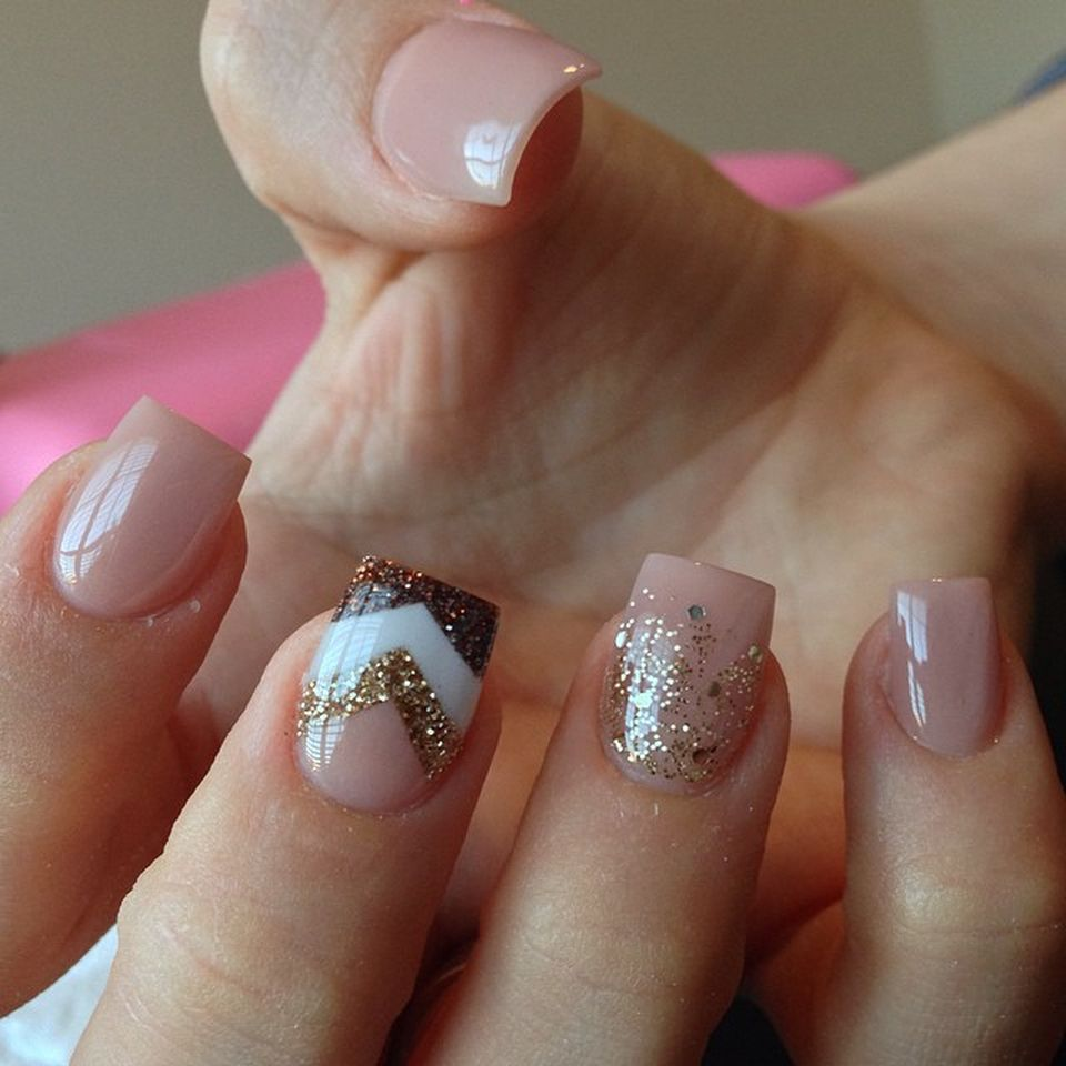 Sweet acrylic nails ideas for winter 88