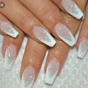 sweet acrylic nails ideas winter