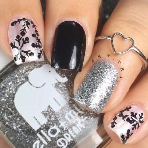 Sweet acrylic nails ideas for winter 93