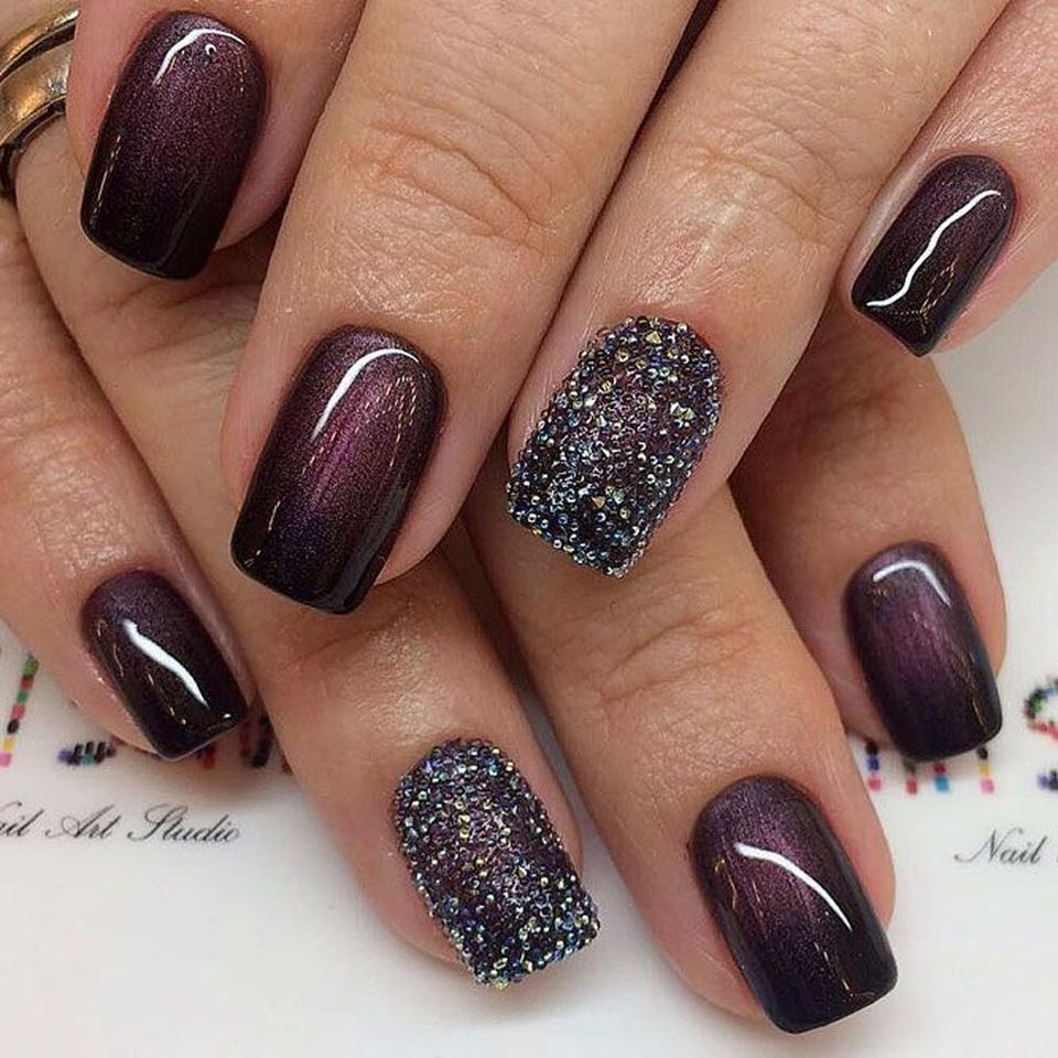 Sweet acrylic nails ideas for winter 94