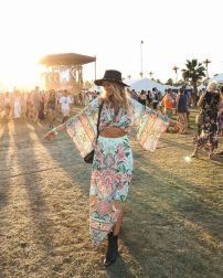 Best boho dress ideas for coachella outfits 58