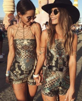 Best boho dress ideas for coachella outfits 81