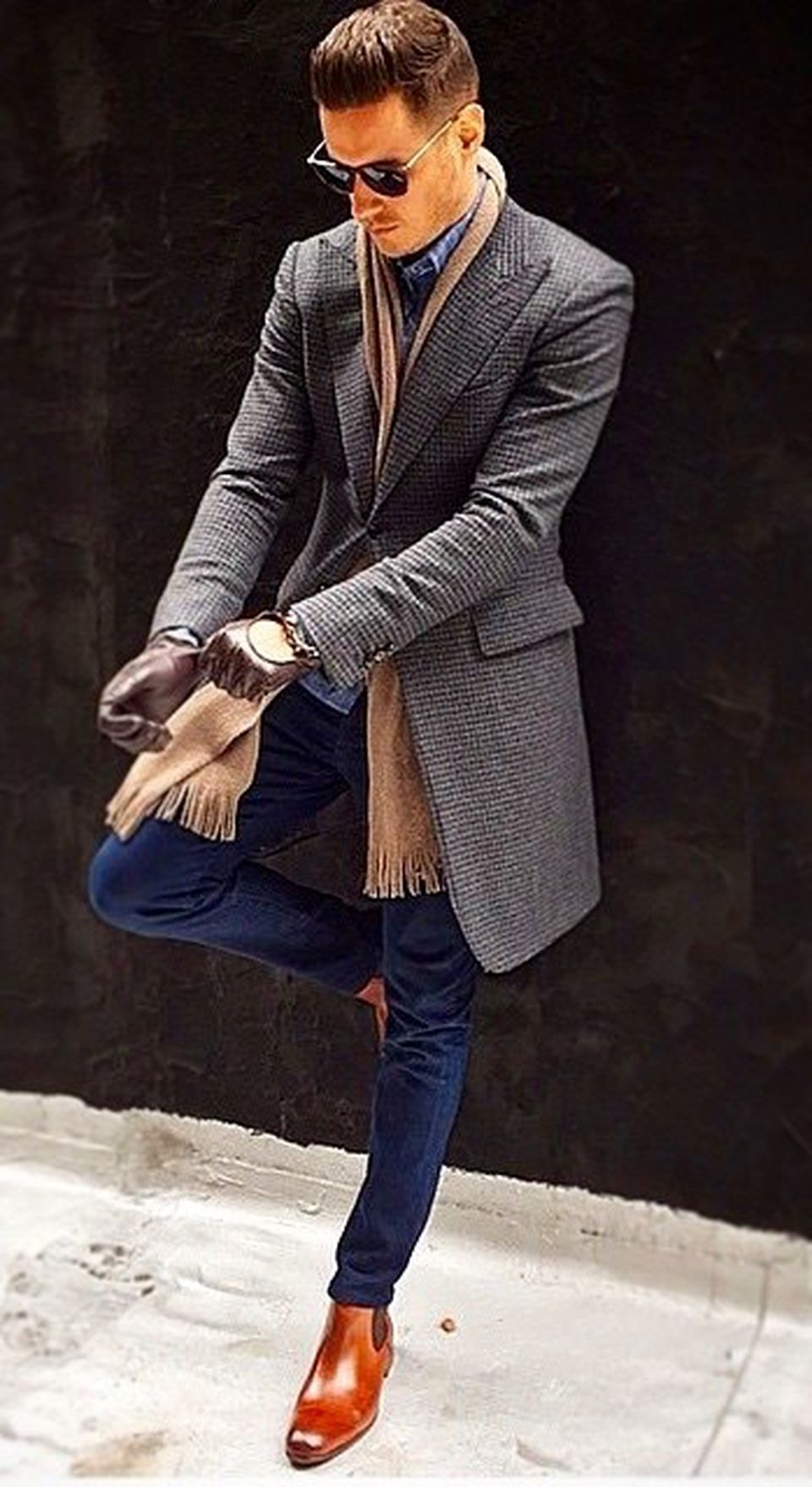 Cool, Classy and Fashionable Men Winter Coat 3