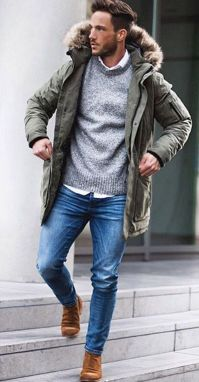 Cool, Classy and Fashionable Men Winter Coat 30