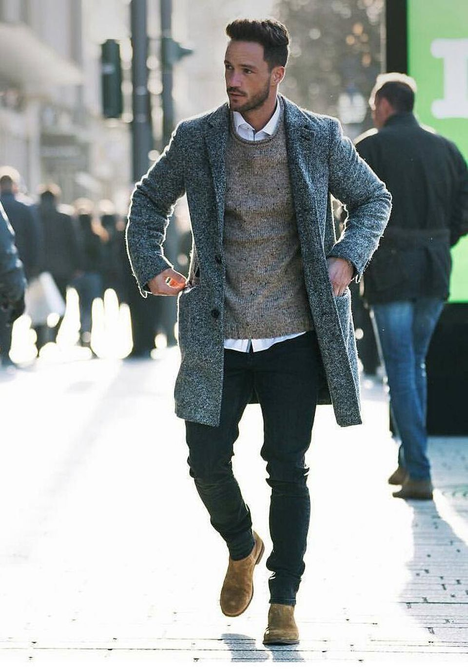 Cool, Classy and Fashionable Men Winter Coat 68