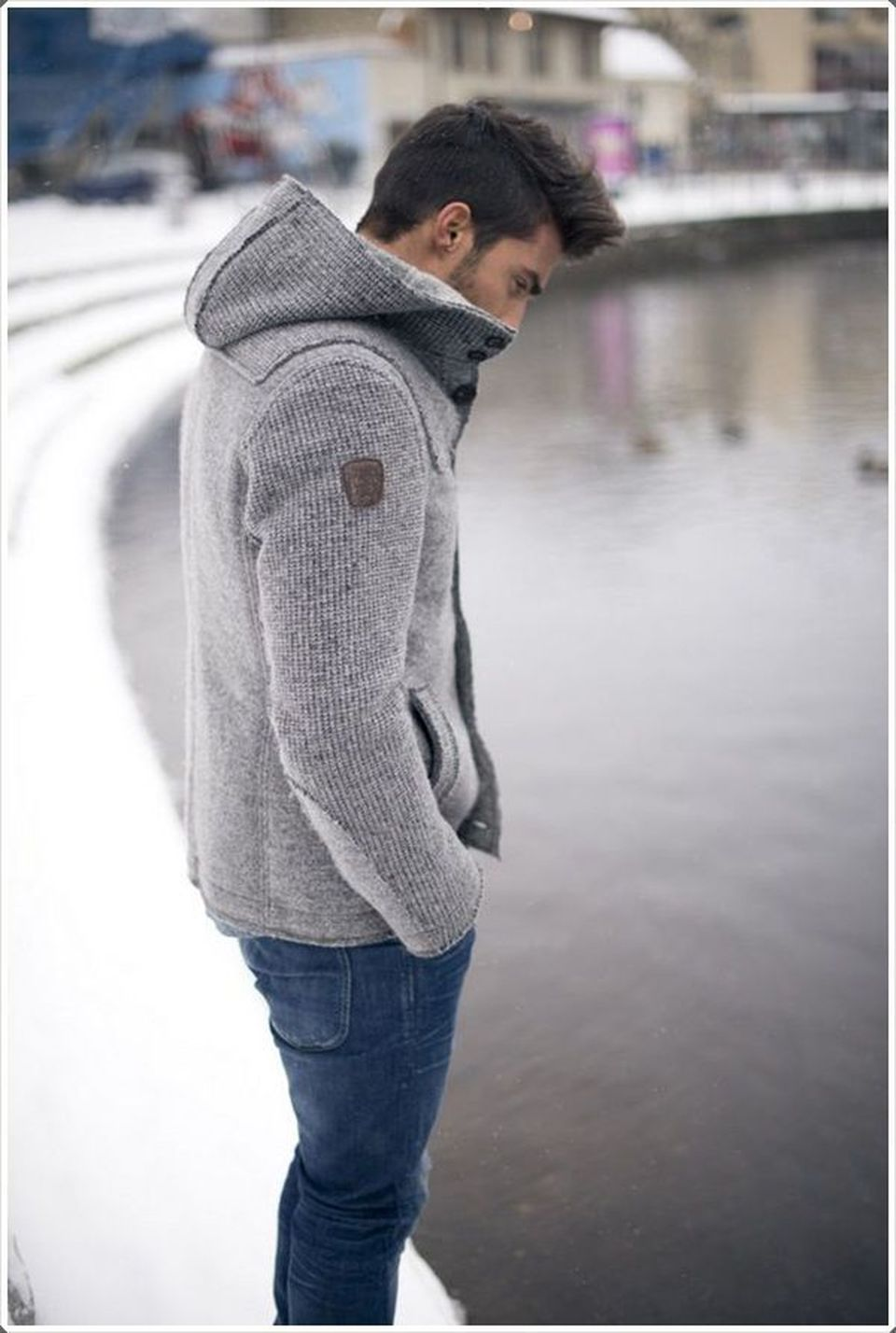 Cool, Classy and Fashionable Men Winter Coat 75