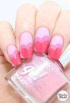 Lovely valentine nails design ideas 10