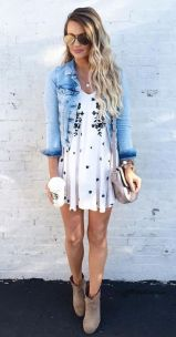 Pretty Casual Spring Fashion Outfits for Teen Girls 20