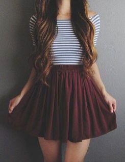Pretty Casual Spring Fashion Outfits for Teen Girls 26