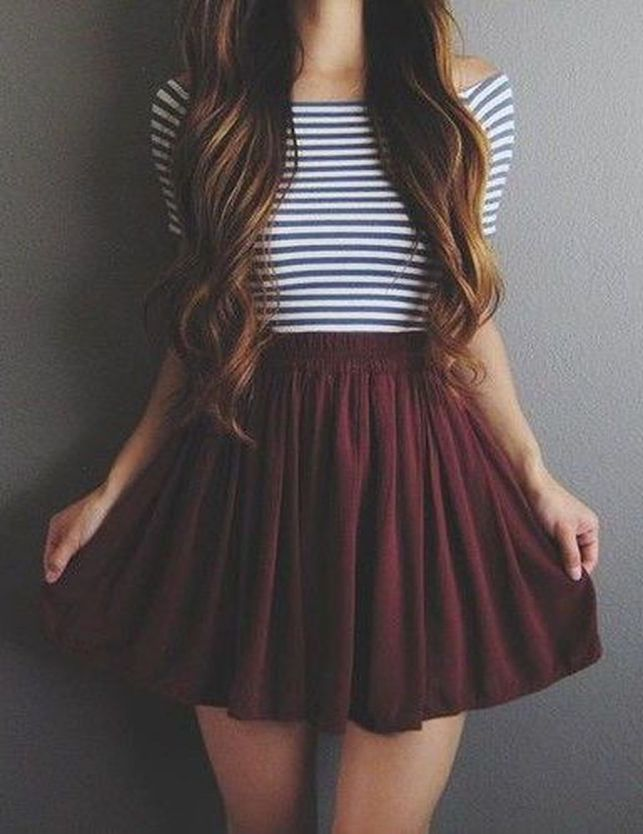 12f044480 60 Pretty Casual Spring Fashion Outfits for Teen Girls - Fashion Best