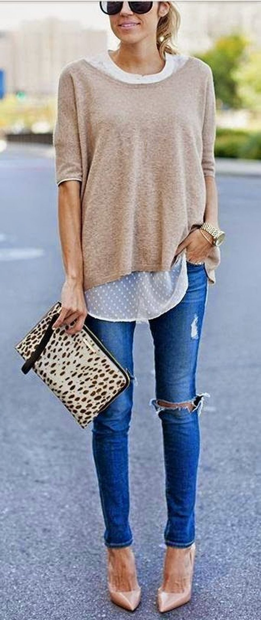Pretty Casual Spring Fashion Outfits for Teen Girls 38