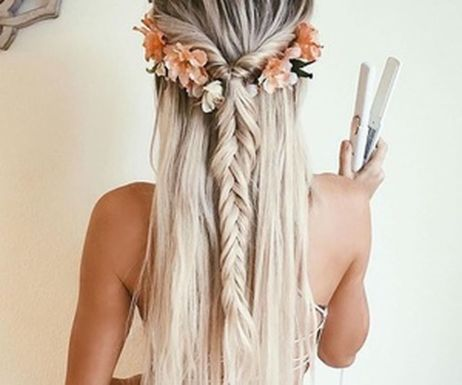 Stunning boho coachella hairstyles ideas 29
