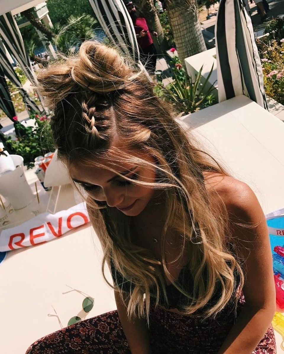 Stunning boho coachella hairstyles ideas 56