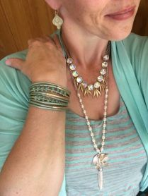 Beautiful Plunder Necklace Ideas for Summers 35