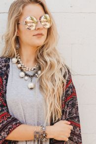 Beautiful Plunder Necklace Ideas for Summers 50