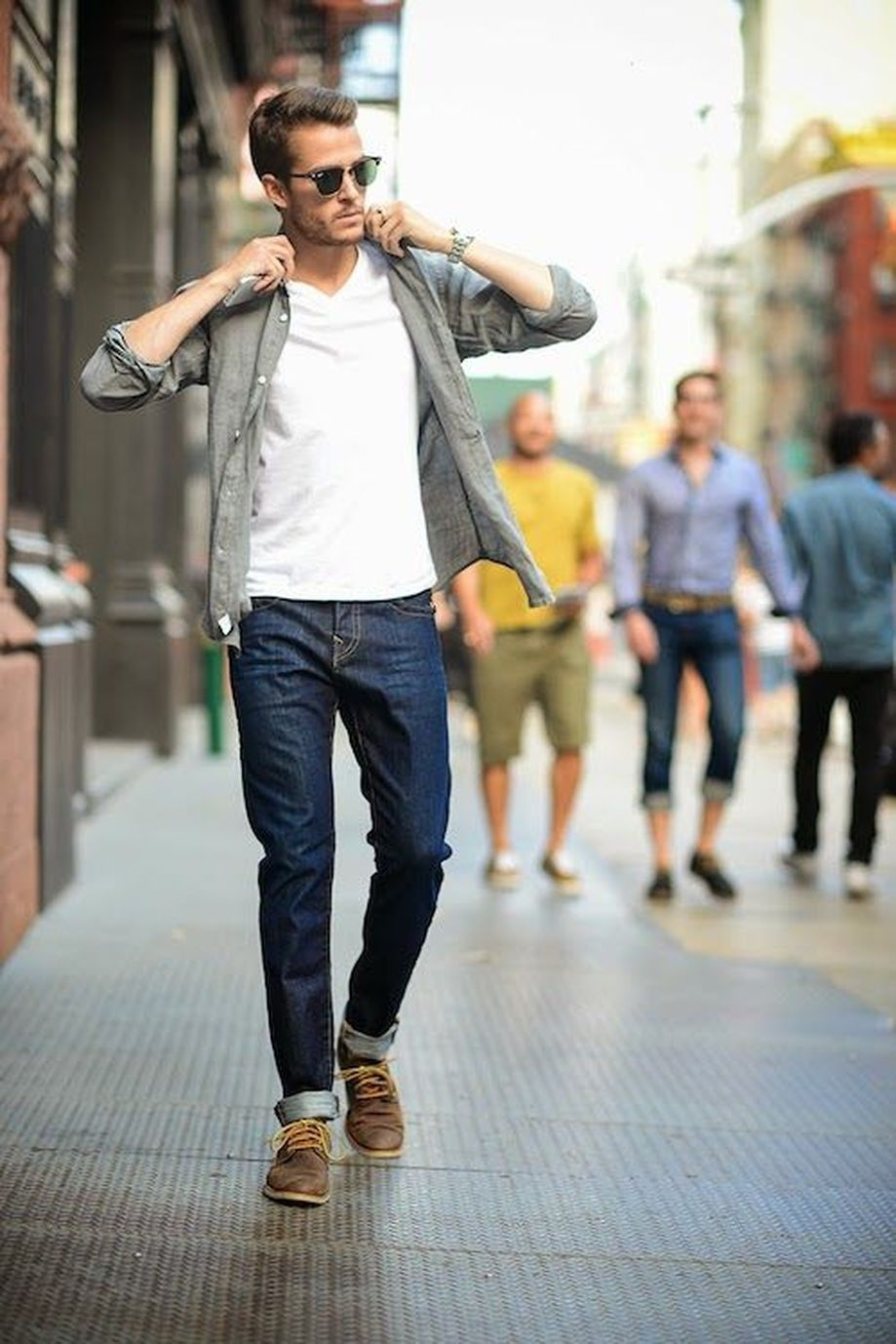 Cool Casual Men's Fashions Summer Outfits Ideas 42