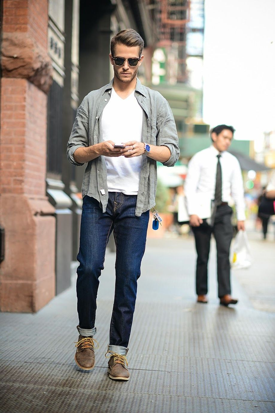 Inspiring Men's Spring Streetstyle Fashion Outfits 16