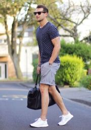 Inspiring Men's Spring Streetstyle Fashion Outfits 37