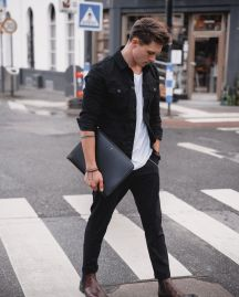 Inspiring Men's Spring Streetstyle Fashion Outfits 9