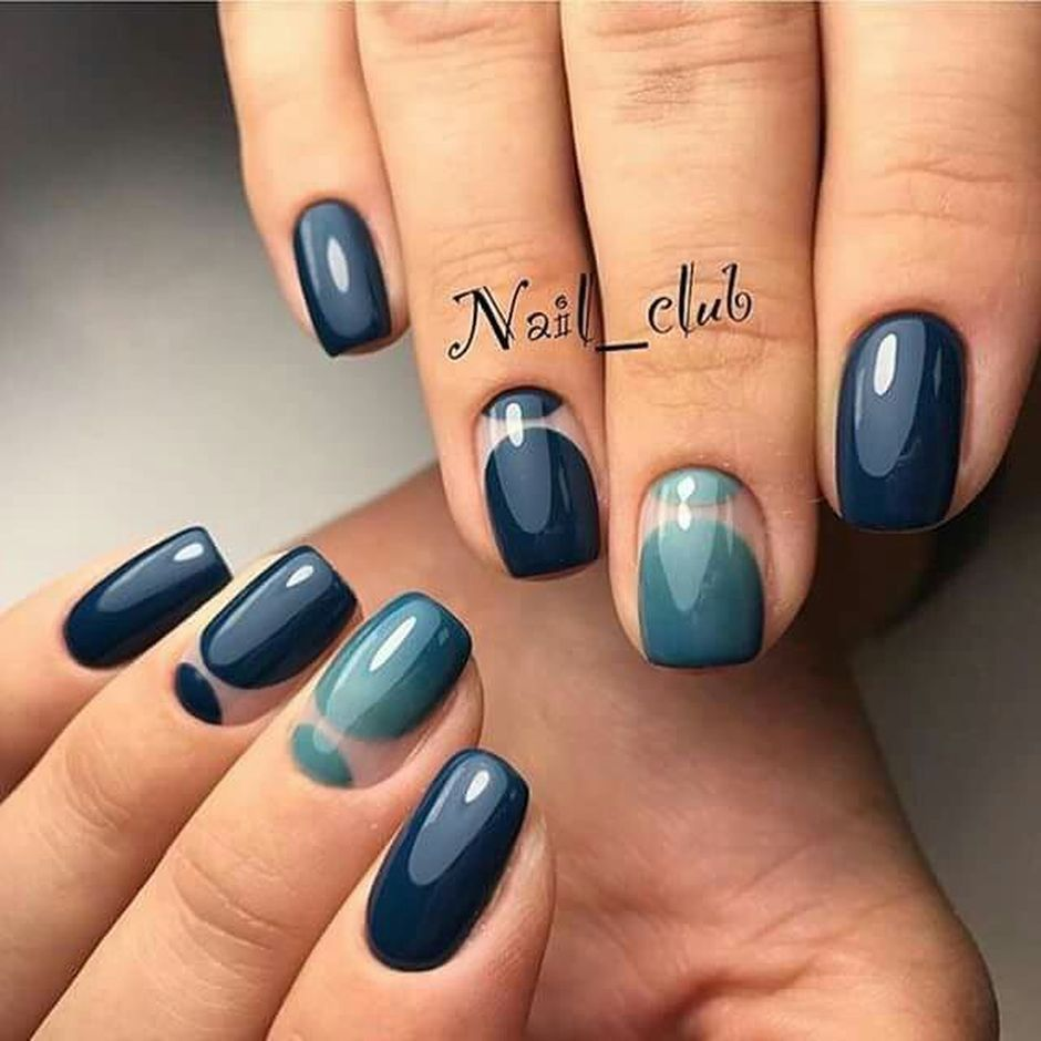 Sweet Blue Nails Ideas that Make Cool and Calm Appearance 17