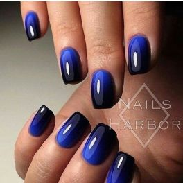 Sweet Blue Nails Ideas that Make Cool and Calm Appearance 33