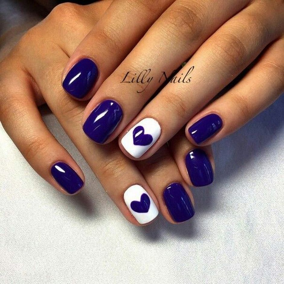 Sweet Blue Nails Ideas that Make Cool and Calm Appearance 51