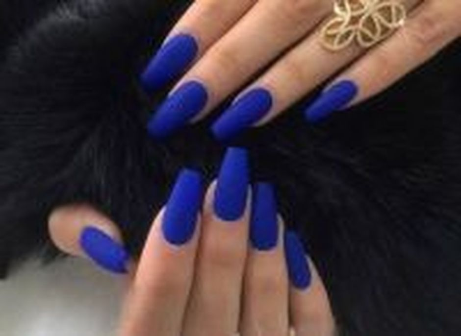 Sweet Blue Nails Ideas that Make Cool and Calm Appearance 7